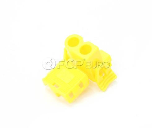 BMW Plug Housing Yellow - Genuine BMW 61131378419