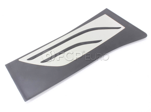 BMW Footrest Stainless Steel (M Performance) - Genuine BMW 51472351267