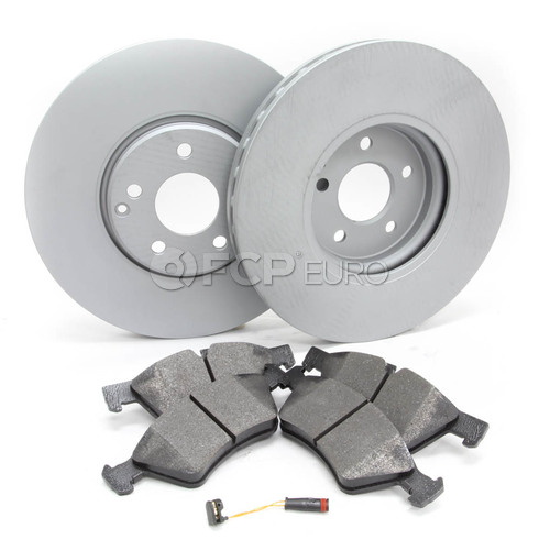 Mercedes Brake Kit Front (E500 4Matic) - Meyle W2114MV8FBK2