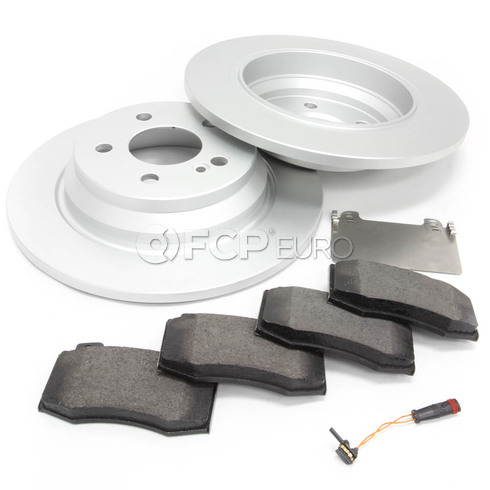 Mercedes Brake Kit Rear (S550 S400) - Meyle W221RBK2