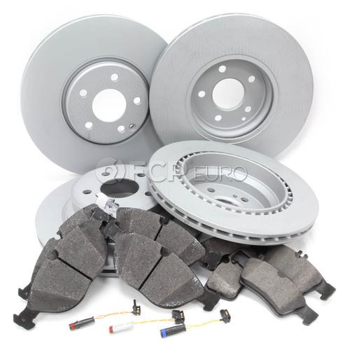 Mercedes Brake Kit Comprehensive (E500 4Matic) - Zimmerman W211E500FULLBK1
