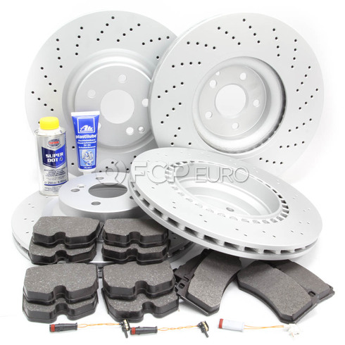 Mercedes Brake Kit Comprehensive (E55 AMG) - Meyle W211AMGFULLBK1