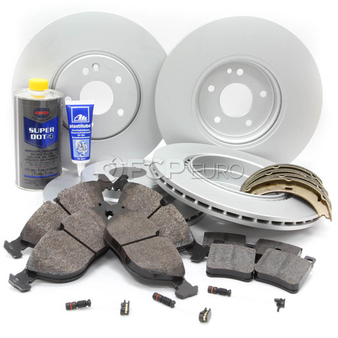 Mercedes Brake Kit Comprehensive (SLK32 AMG) - Meyle R170AMGFULLBK1