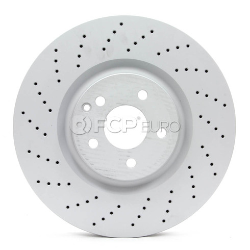 Mercedes Brake Disc - Zimmermann 2304210712