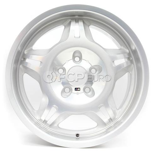 """BMW 17"""" M Double Spoke Style 24 Wheel - Genuine BMW 36112227860"""