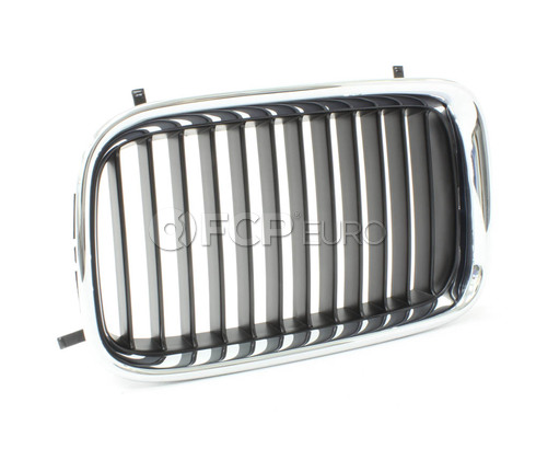 BMW Grille Left - Genuine BMW 51138122237