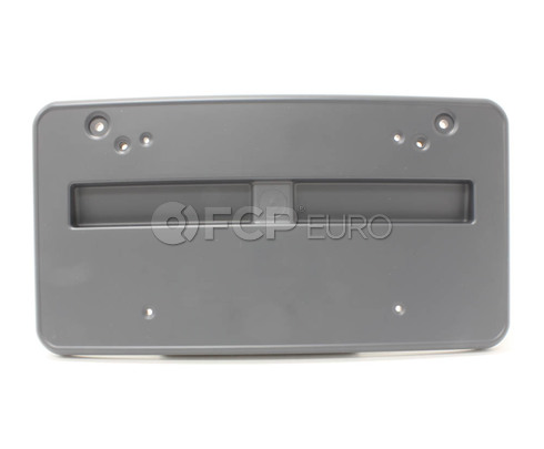 BMW License Plate Bracket Front (E46) (323Ci 325Ci 328Ci) - Genuine BMW 51118245103