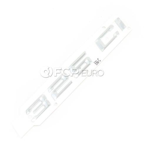 BMW Emblem Adhered Rear - Genuine BMW 51147025254