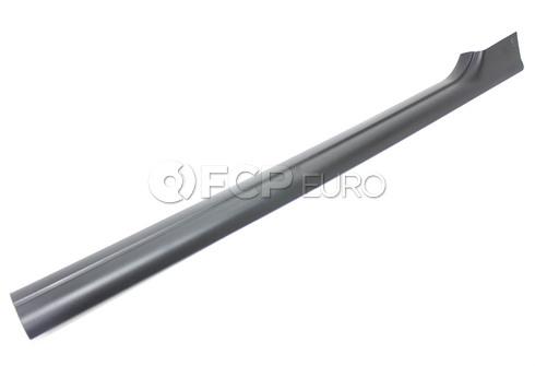 BMW Cover Strip Entrance Interior Right (Black) - Genuine BMW 51478239960