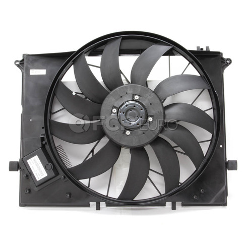 Mercedes Cooling Fan Assembly With Motor - Behr 2205000293