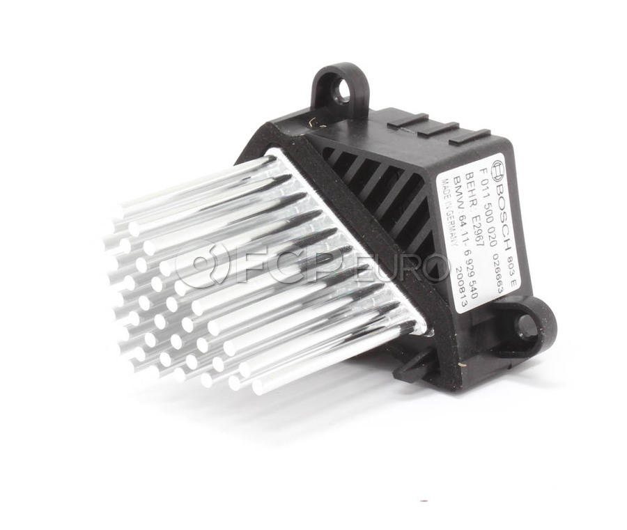 BMW HVAC Blower Motor Regulator - Genuine BMW 64116929540