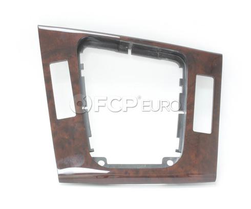 BMW Bottom Panel Depositing Box Wood (Myrte) - Genuine BMW 51168209568