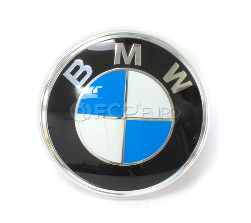 BMW Trunk Lid Emblem (630CSi 633CSi 635CSi L6 M6) - Genuine BMW 51141872329