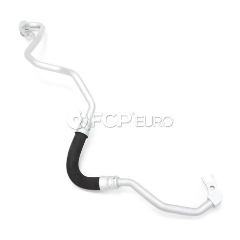 BMW Engine Oil Cooler Line (750Li 750i) - Genuine BMW 17227535740