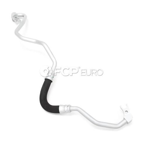 BMW Engine Oil Cooler Line (750Li 750i) - Genuine BMW 17227535740