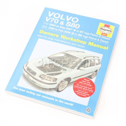 Volvo Haynes Repair Manual (V70 S80) Haynes 4263