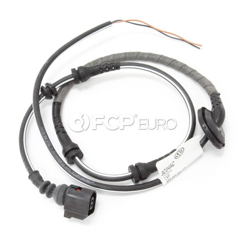 VW ABS Wheel Speed Sensor Wire Harness Rear Right (CC Passat) - Genuine VW Audi 3C0927904AC