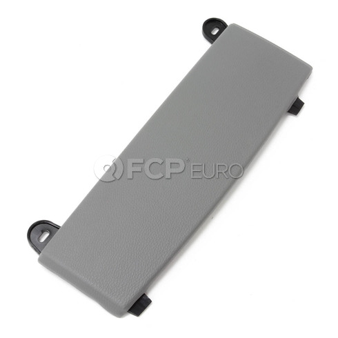 BMW Trim Panel Centre Armrest Right (Flannel Grey) - Genuine BMW 51167066107