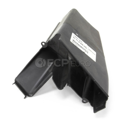 BMW Front Left Brake Air Duct - Genuine BMW 51718235243