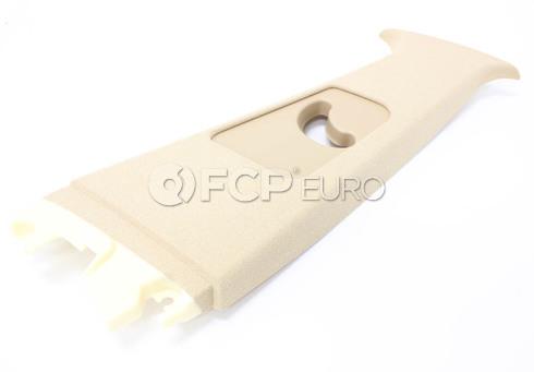 BMW Trim PanelRight Upper Centre Column Its (Light Beige) - Genuine BMW 51437006848