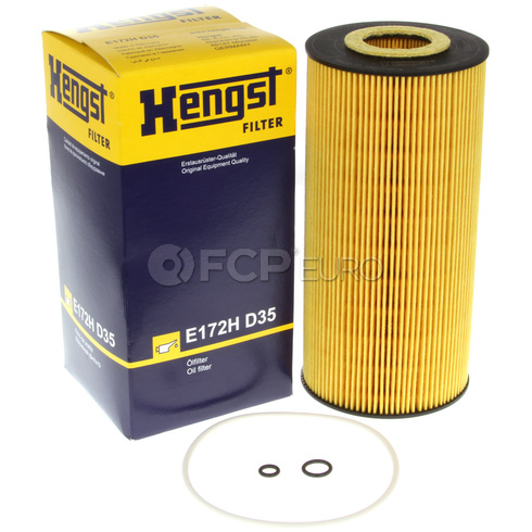 Mercedes Engine Oil Filter (E300) - Hengst 6021800009