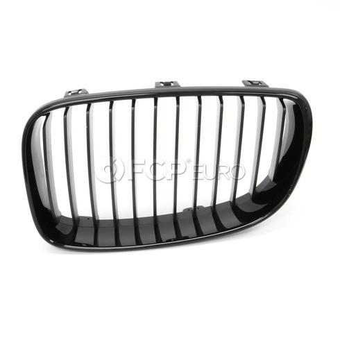 BMW Front Trim Grille Black Left (M Performance) - Genuine BMW 51710441921