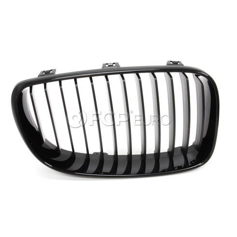BMW Front Trim Grille Black Right (M Performance) - Genuine BMW 51710441920