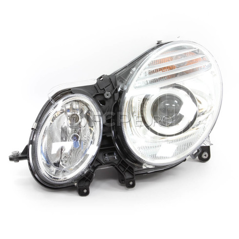 Mercedes Headlight Assembly Left (E280 E300 E320 E350 E63) - Hella 2118203361