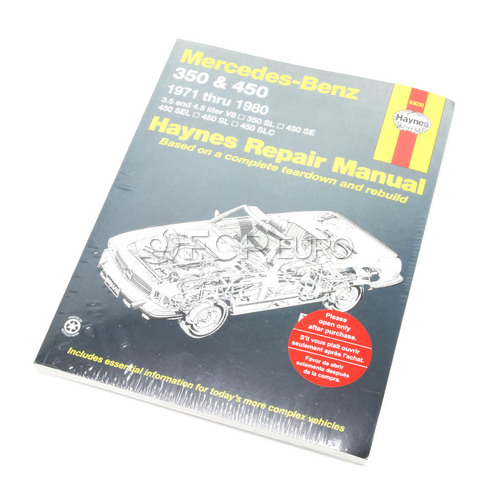 Mercedes Benz Haynes Repair Manual (350 450) - Haynes HAY-63030