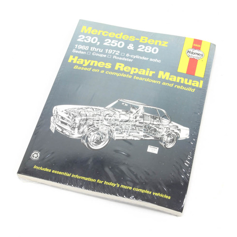 Mercedes Benz Haynes Repair Manual (230 250 & 280) - Haynes HAY-63020