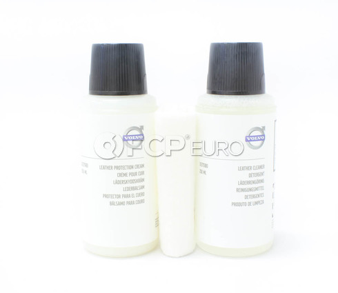 Volvo Leather Care Kit - Genuine Volvo 31375177