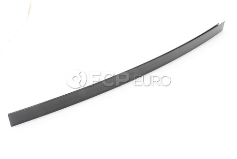 BMW Window Guide Web Cover Right (Gloss Black) - Genuine BMW 51357207840