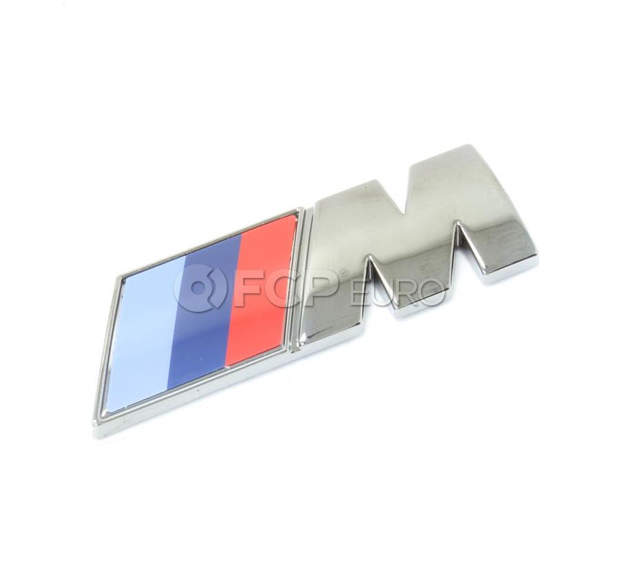 Bmw M Emblem Genuine Bmw 51148058882 Fcp Euro