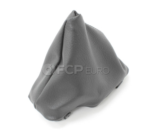 BMW Selector Lever Boot Imitation Leather (Black) - Genuine BMW 25161423220