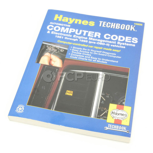 Haynes Repair Manual (Automotive Computer Codes) - Haynes HAY-10205