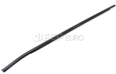 BMW Channel CoverExteriorDoor Front Right (Gloss Black) - Genuine BMW 51337207842