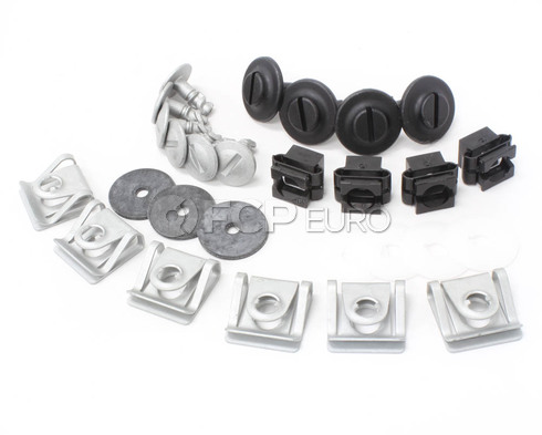 Audi VW B5 Engine Splash Guard Hardware Kit