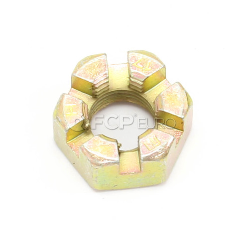 BMW Crown Nut (M10X1) - Genuine BMW 07119923436