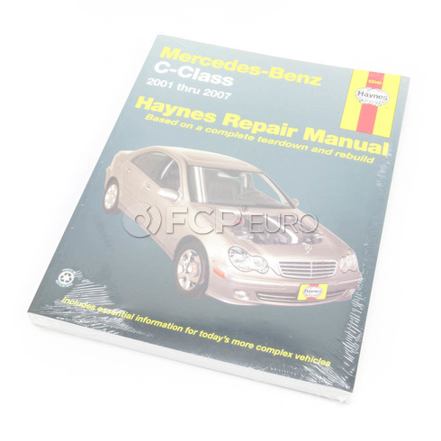 Mercedes Benz Haynes Repair Manual (C-Class) - Haynes HAY-63040