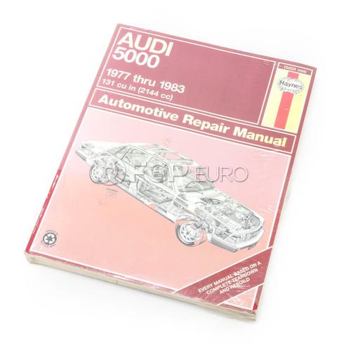 Audi Haynes Repair Manual (5000) - Haynes HAY-15025