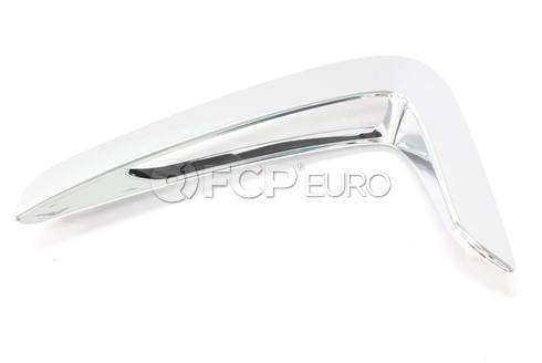 BMW Air Duct Side Left (Chrom) - Genuine BMW 51747294825