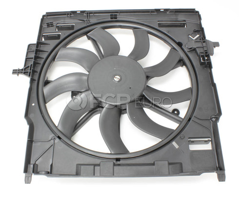 BMW Engine Cooling Fan Assembly (X6 X5) - Genuine BMW 17428618242