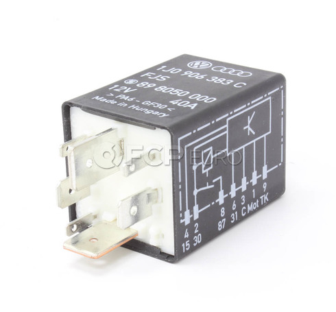 Audi VW Fuel Pump Relay - Genuine VW Audi 1J0906383C