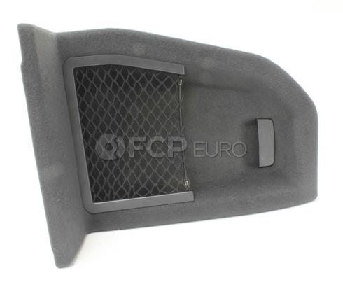 BMW Left Trunk Flap (Black) - Genuine BMW 51479207906