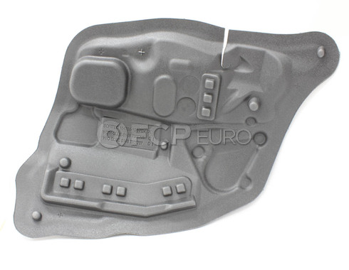 BMW Sound Insulating Door Rear Left - Genuine BMW 51487366707