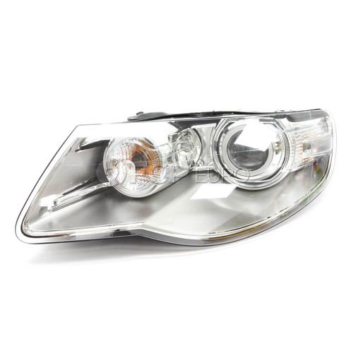 VW Headlight Assembly Left (Touareg) - Hella 7L6941039E