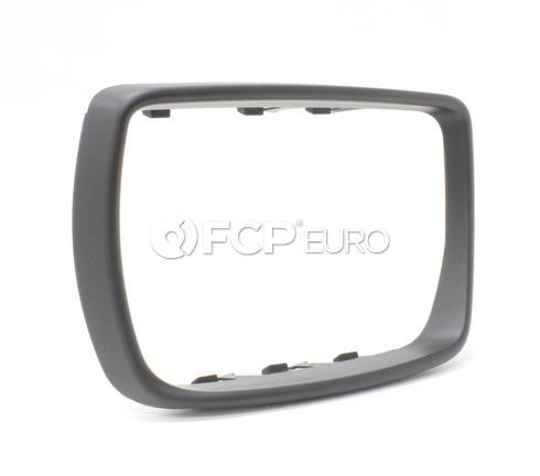 BMW Mirror Frame Left - Genuine BMW 51163412285