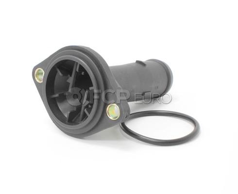 Audi VW Engine Coolant Thermostat Housing Cover (Beetle Golf Jetta) - Meyle 038121121