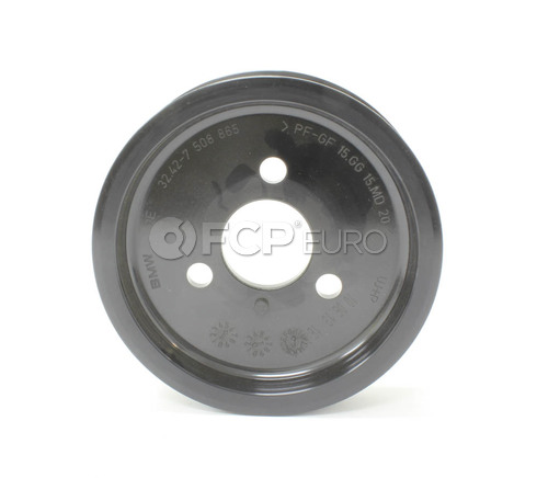 BMW Power Steering Pulley (545i 550i 654Ci 650Ci X5) - Genuine BMW 32427508865