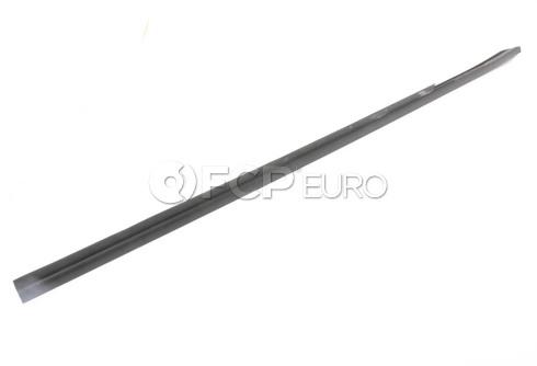 BMW Door Weather Strip Inner Right (Black) - Genuine BMW 51221945594